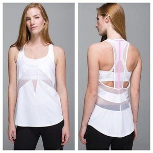 LULULEMON • If You're Lucky White Tank Top